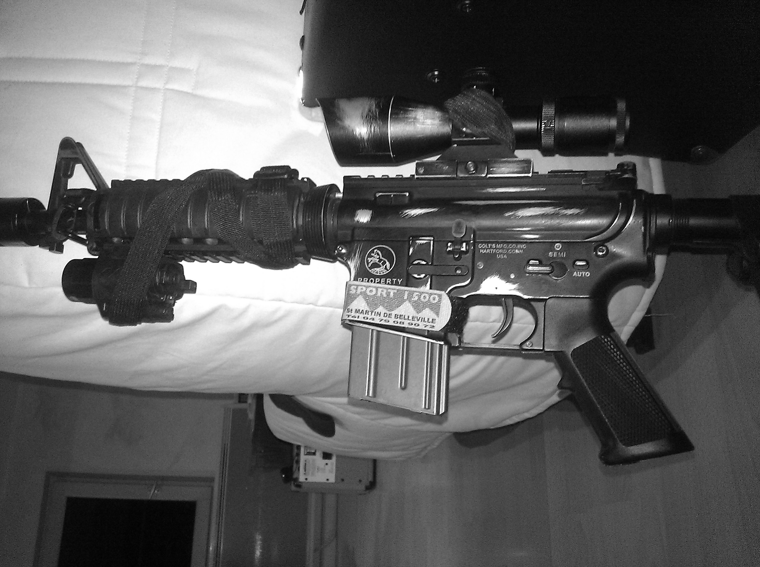 M4 Anti – Snipe